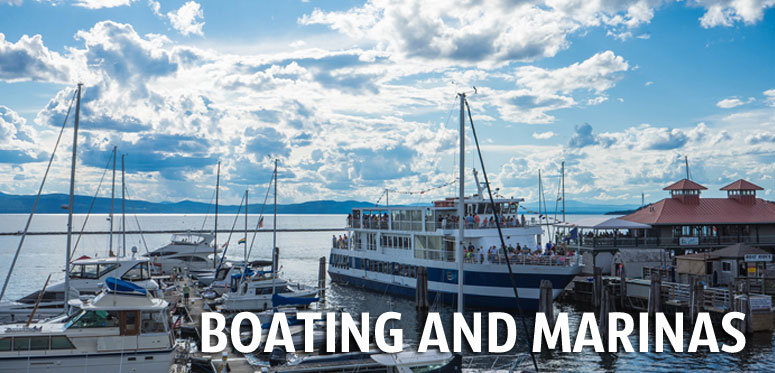Lake Champlain Boating and Marinas